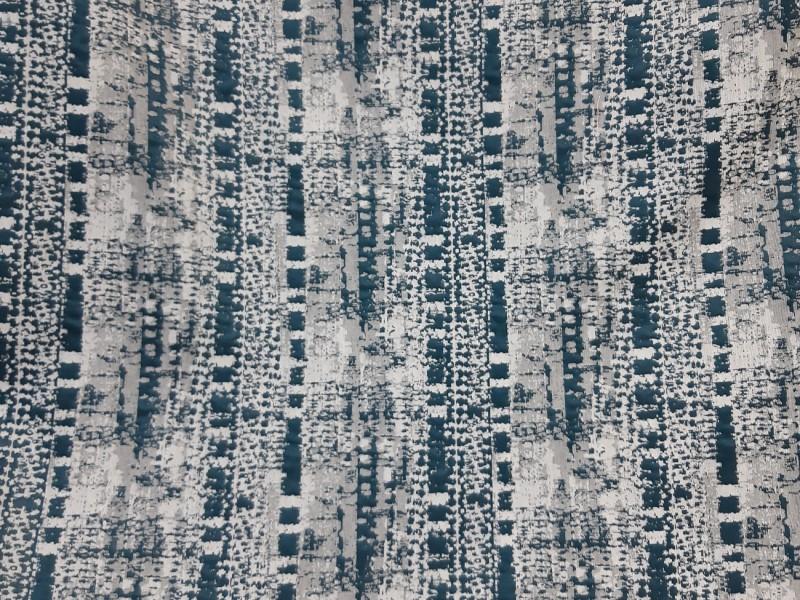 Ткань портьерная Жаккард, цвет изумрудный
