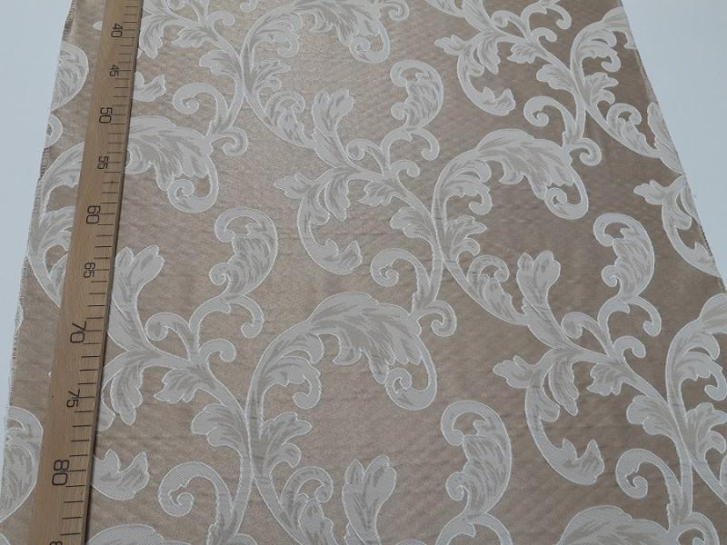 Ткань портьерная Жаккард с рисунком