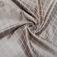 Ткань портьерная Жаккард Ромбы