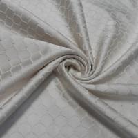 Ткань портьерная Жаккард с рисунком Вензеля