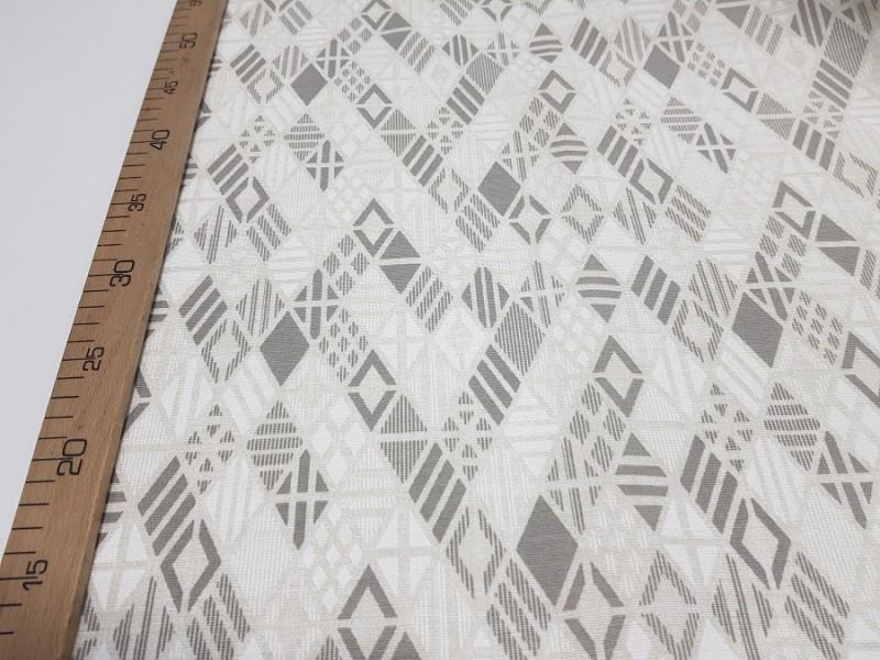 Ткань портьерная хлопок Ромбы, ширина 2.8 м.