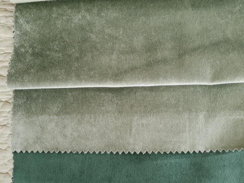 Бархат мятный-зеленый