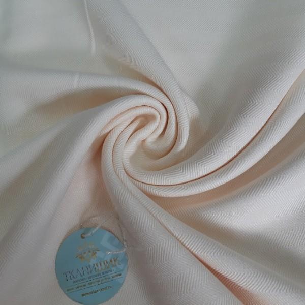 Ткань Елочка, кремовый