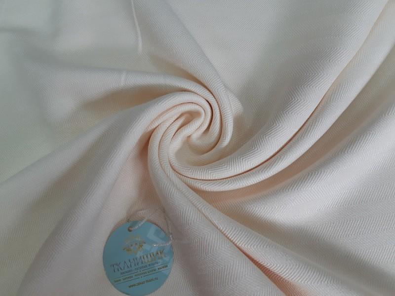 Ткань Елочка, цвет кремовый