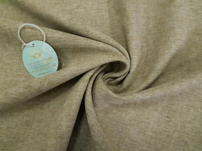 Ткань Овечка,  цвет пшеничный