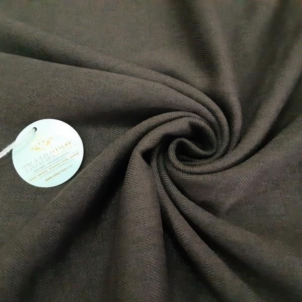 Ткань Елочка, шоколадный