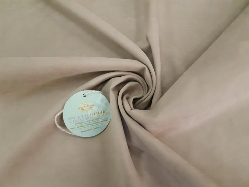 Ткань Нубук, цвет бежевый