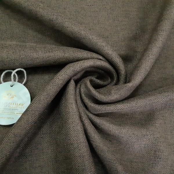 Ткань Елочка, коричневый