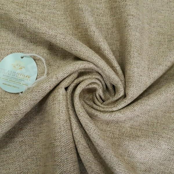 Ткань Елочка, светло-коричневый