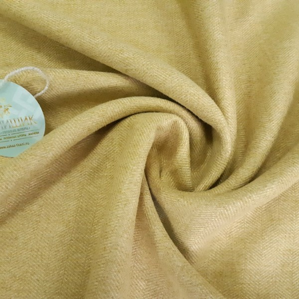 Ткань Елочка, пшеничный