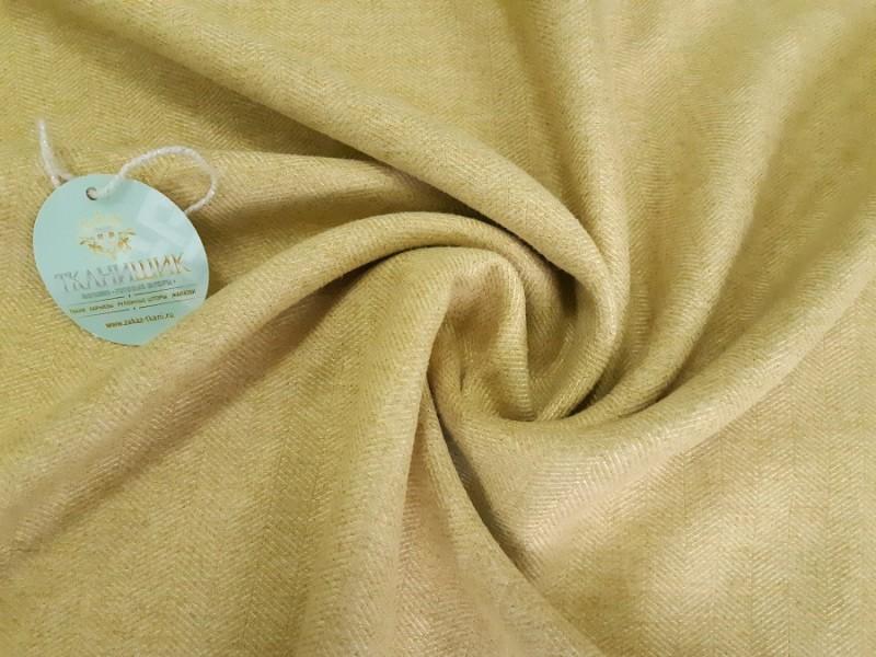 Ткань Елочка, цвет пшеничный