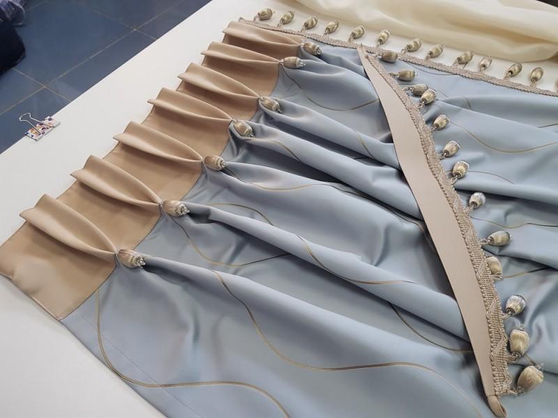 Готовые шторы с подхватом