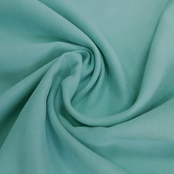 Ткань Канвас бирюзовый / остаток 1.0 м.