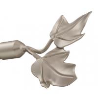Наконечник Листочки для металлического карниза