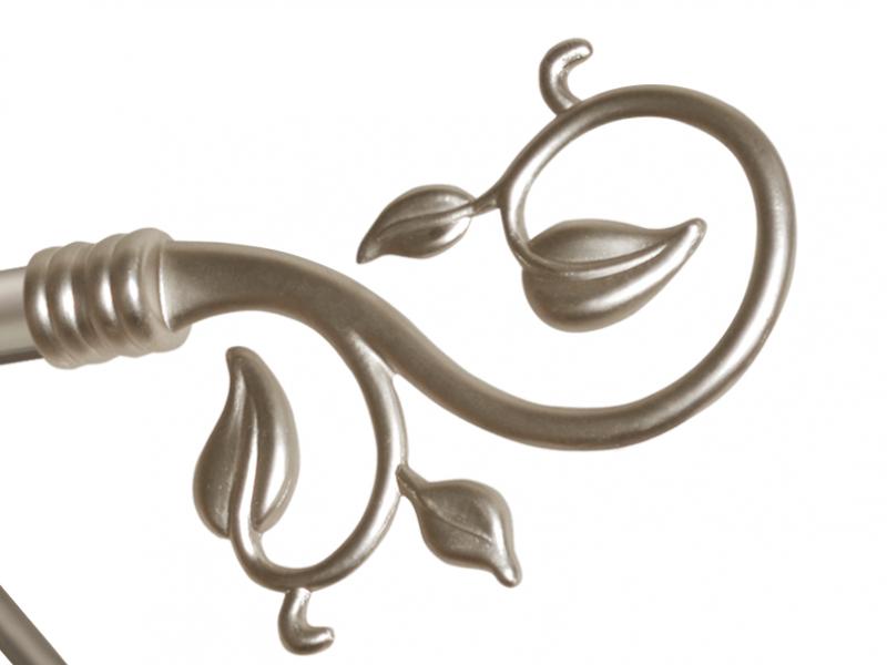 Наконечник Осенний вальс для металлического карниза