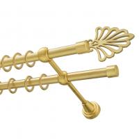 Карниз двухрядный диаметр 16 мм. трубы гладкие и витые