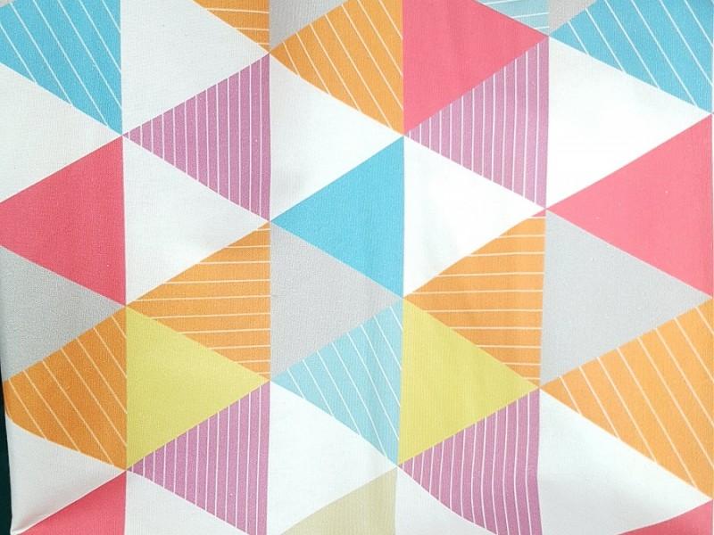 Лен Треугольники, разноцветный