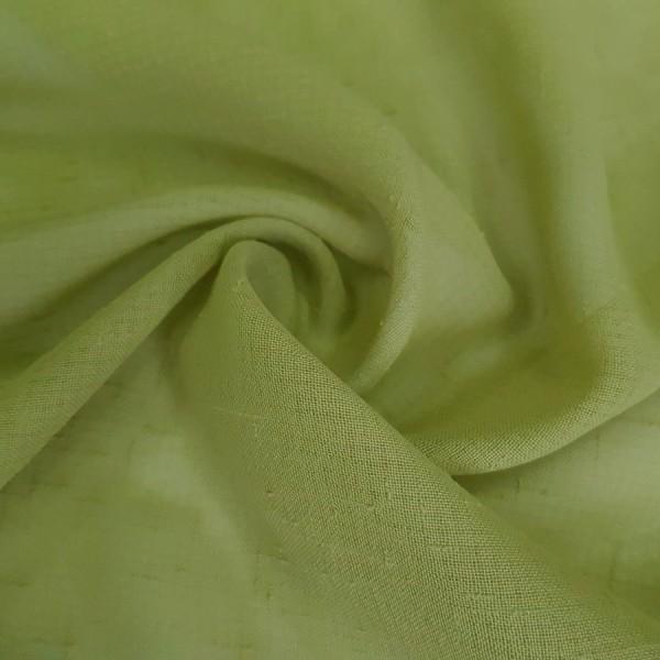 Лен зеленый / остаток 2.0; 1.8 м.