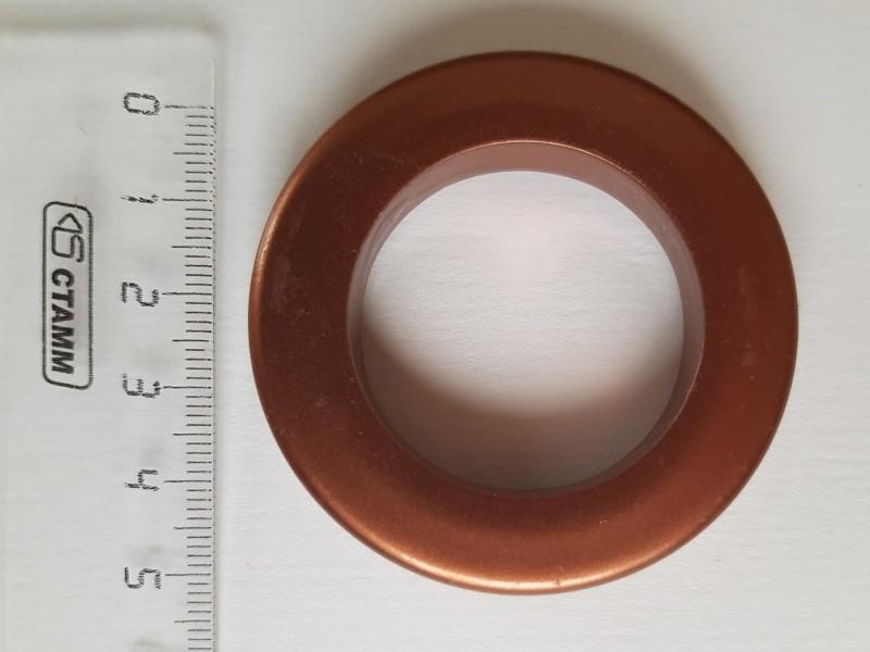 Люверс 35/55, цвет терракотовый