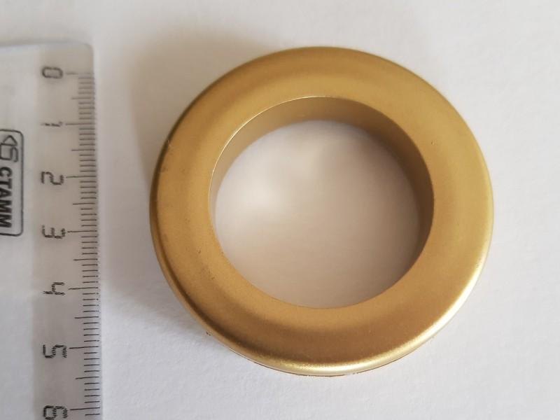 Люверс 35/55, цвет матовое золото. 11