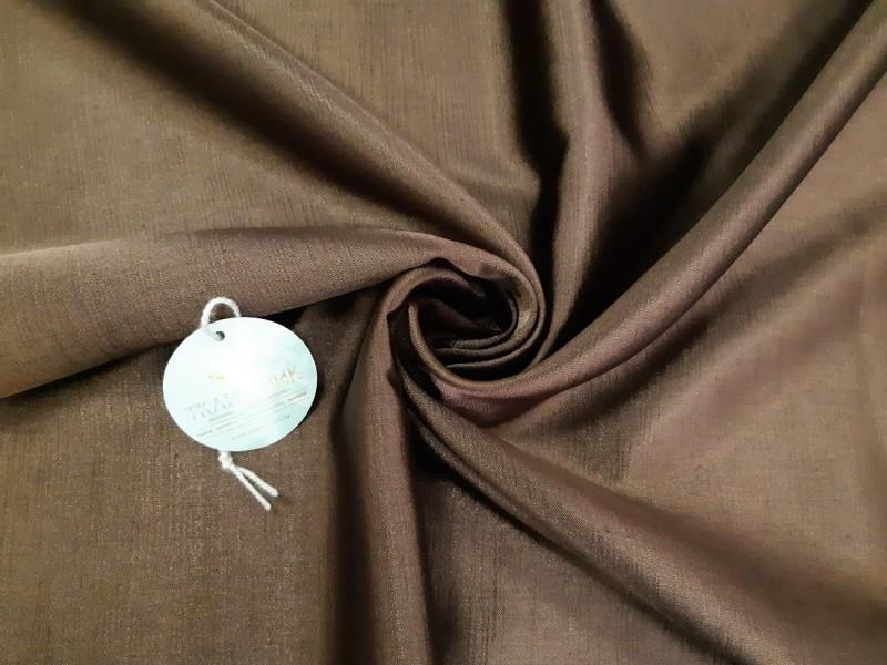 Ткань Шанзелизе, цвет шоколадный