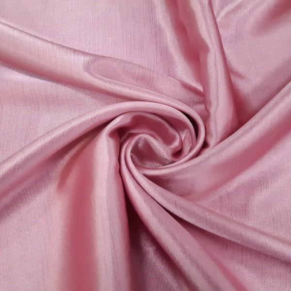 Шанзализе, розовый, готовая штора