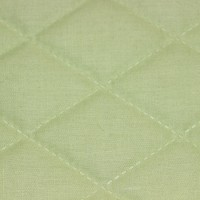 Подкладочная ткань (фото 7 цветов) термостежка для покрывал, поликоттон, х/б. Ш - 220 см, ромб 5.2 см х 7.5 см.
