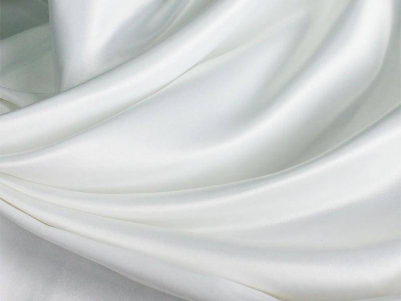 Сатен белый