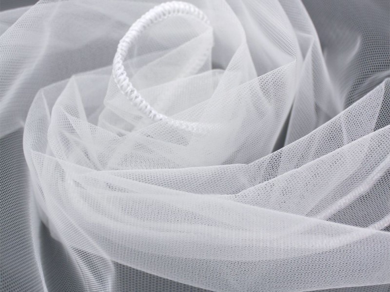 Сетка грек, цвет белый