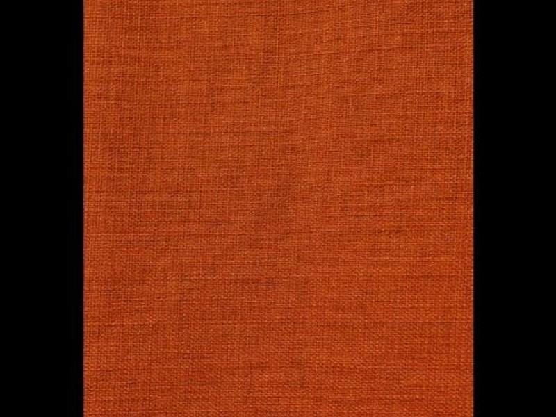 Ткань для штор лён, терракотовый
