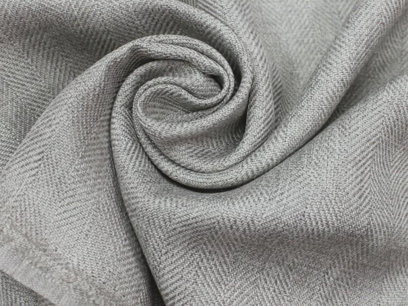 Ткань Ёлочка, цвет серый