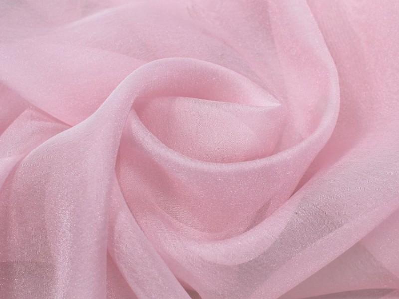 Микровуаль Песок, цвет розовый