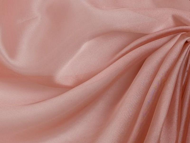 Микровуаль однотонная, цвет розовый