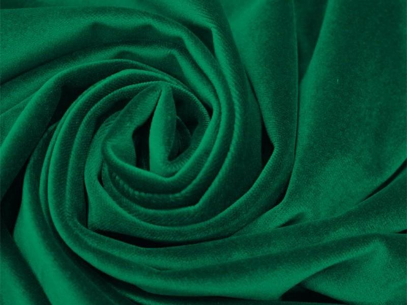 Бархат зеленый
