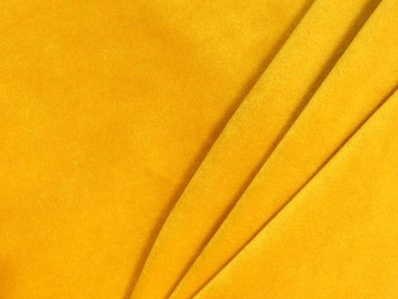 Бархат ярко-желтый