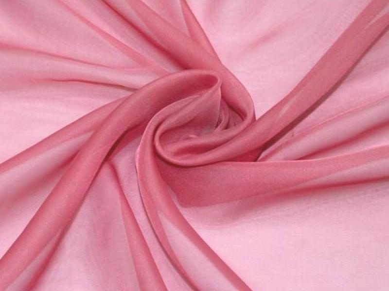 Вуаль розовая