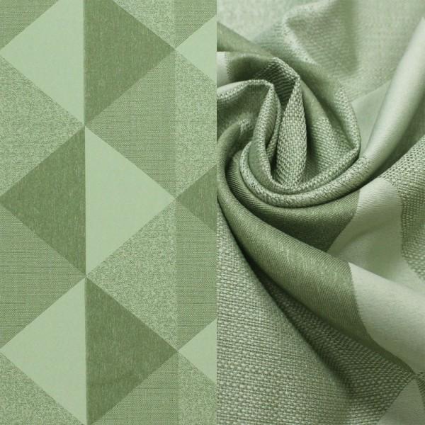 Лен Треугольники, зеленый