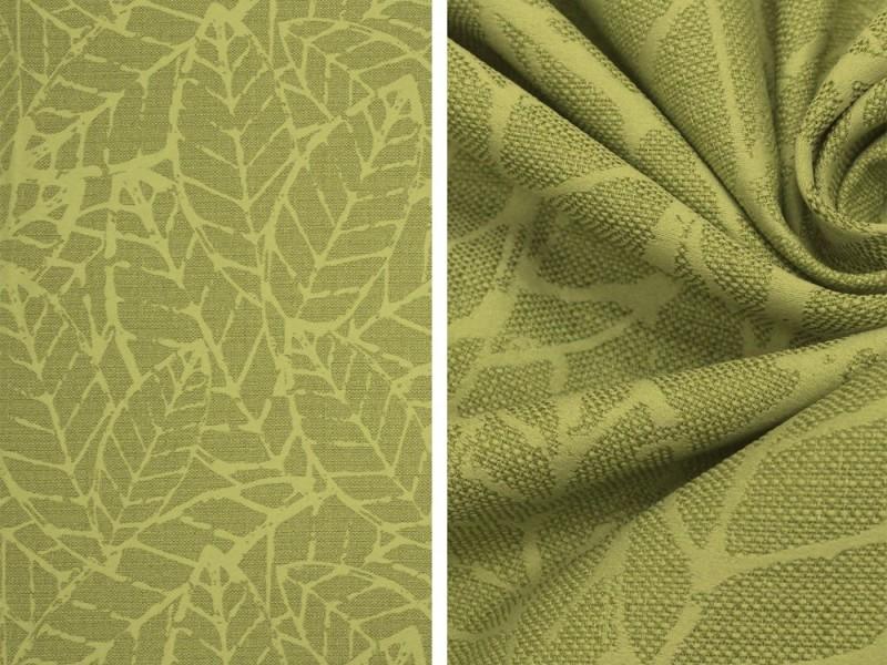 Лен Листья, цвет зеленый
