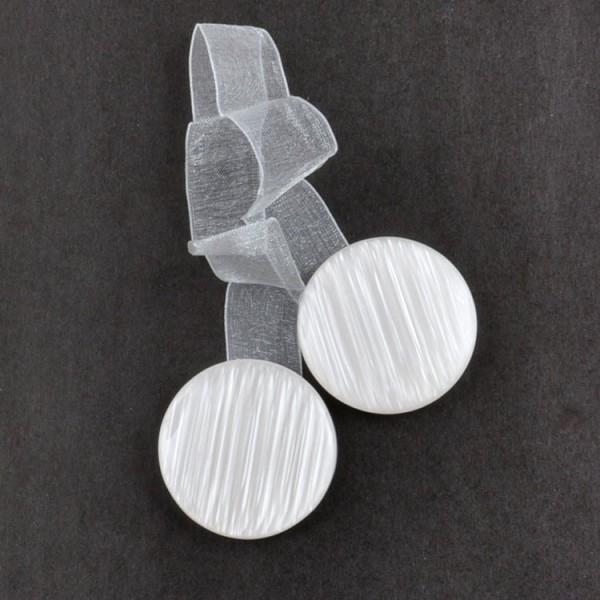 Магнит для штор HT3601U-3, белый