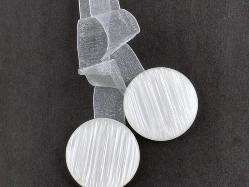 Магниты для штор HT3601U-3, цвет белый