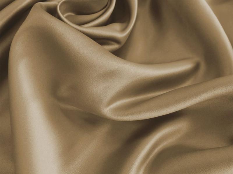 Сатен светло-коричневый