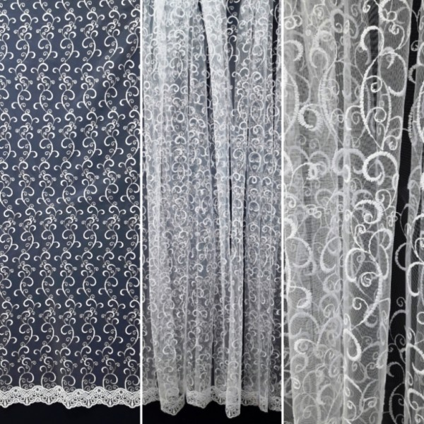 Сетка вышивка MR1001