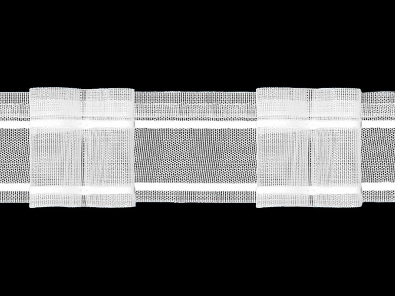 Шторная тесьма U2-200 (4.50.200.1) 80р, ширина 5 см
