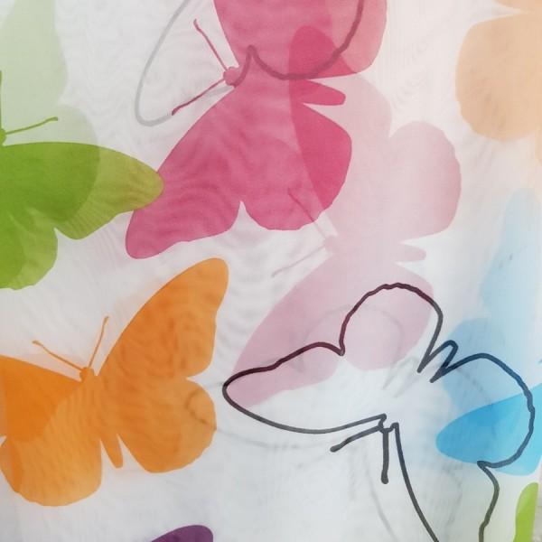 Вуаль печать Бабочки