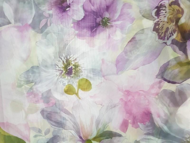 Вуаль печать Цветы