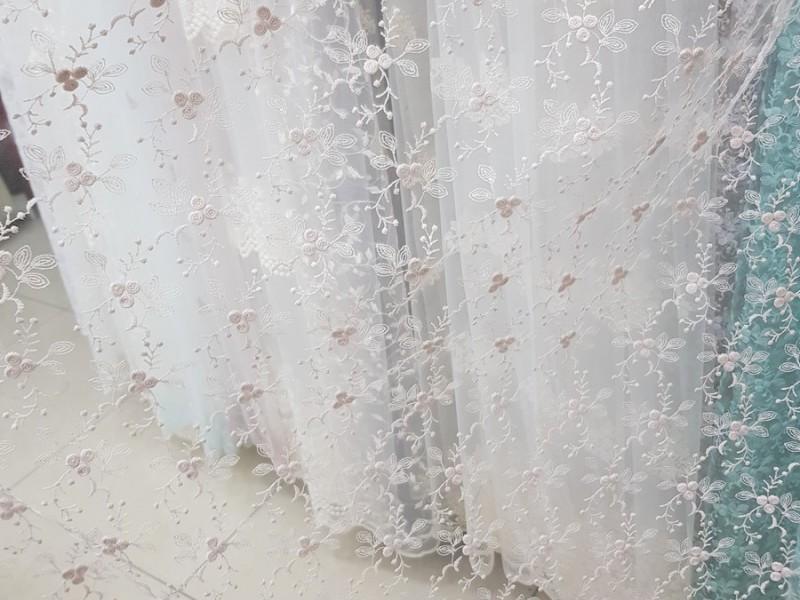 Вышивка на кристальной сетке