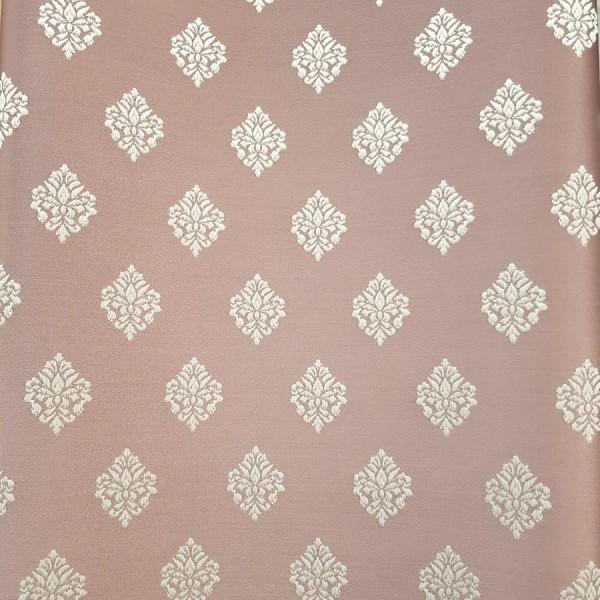Ткань портьерная Жаккард, брусничный
