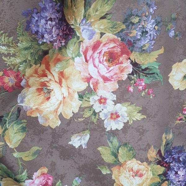 Сатен печать Цветы