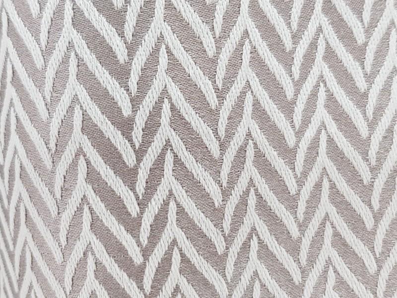 Ткань портьерная Жаккард Елочка, цвет серый