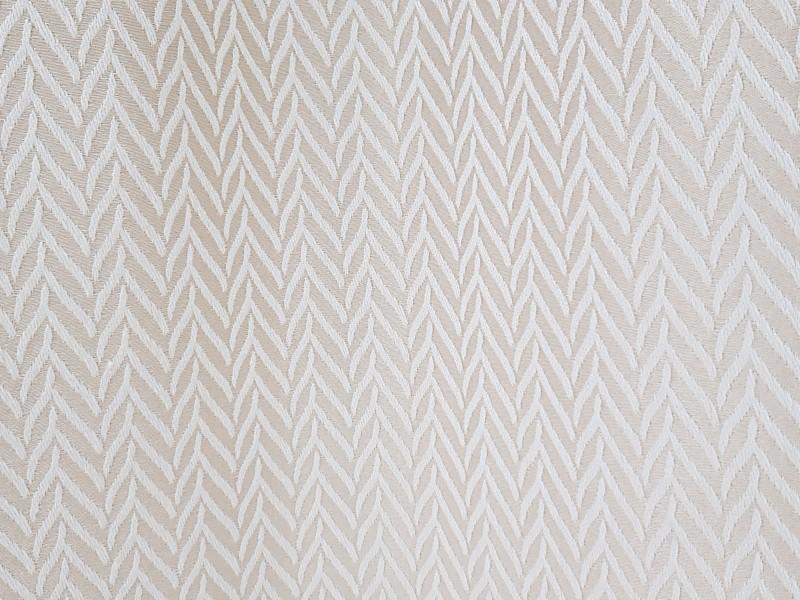 Ткань портьерная Жаккард Елочка, цвет песочный
